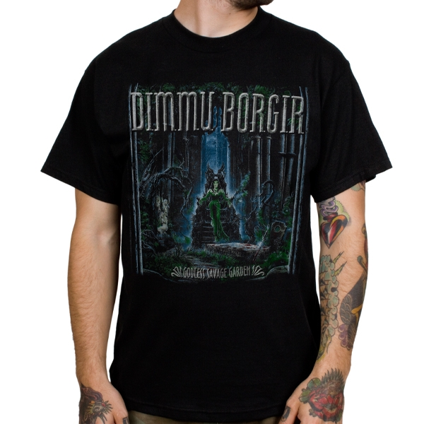 Dimmu borgir godless savage garden t shirt indiemerchstore for The garden band merch