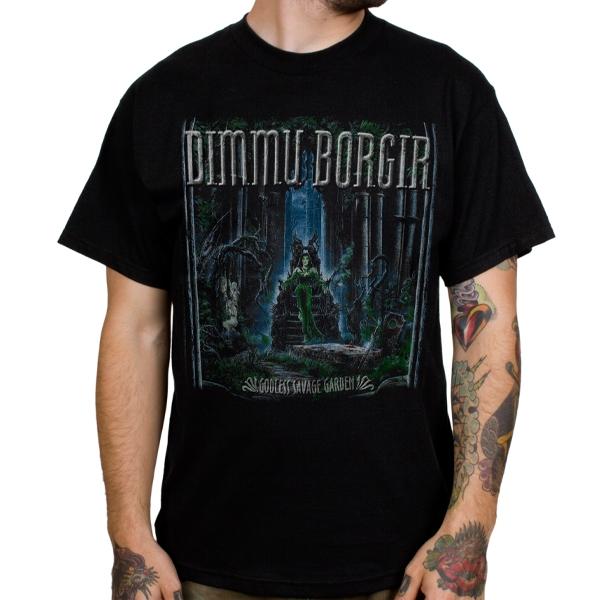 Dimmu Borgir Godless Savage Garden T Shirt Indiemerchstore