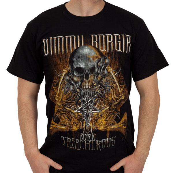 Dimmu Borgir Quot Born Treacherous Quot T Shirt Indiemerchstore
