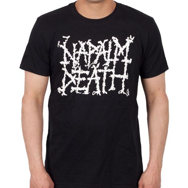 Napalm Death Quot Logo Quot T Shirt Napalm Death