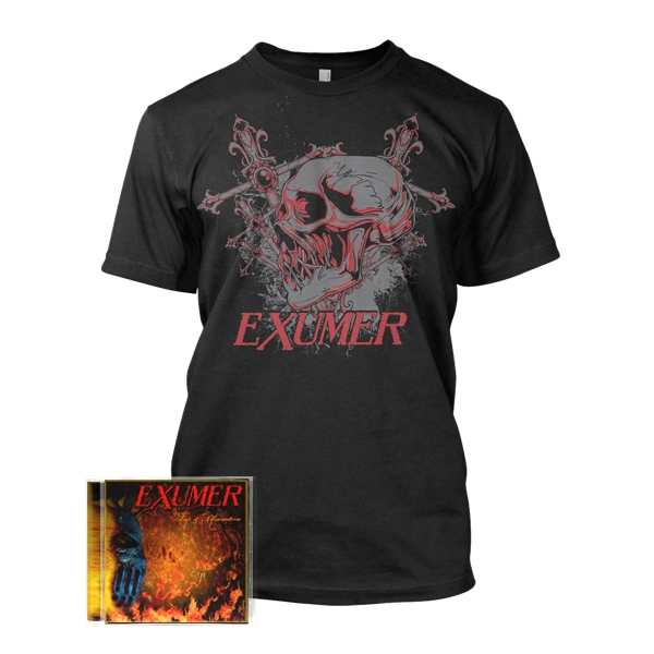 Fire & Damnation + Skull and Cross
