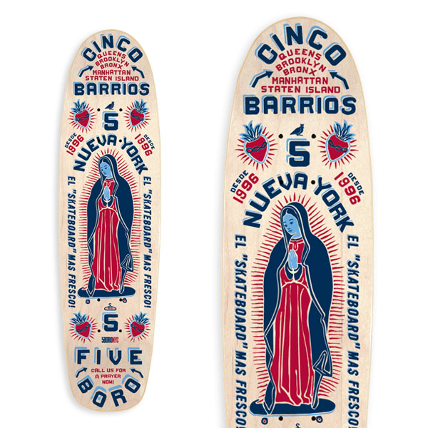 Cinco Barrios Cruiser Large