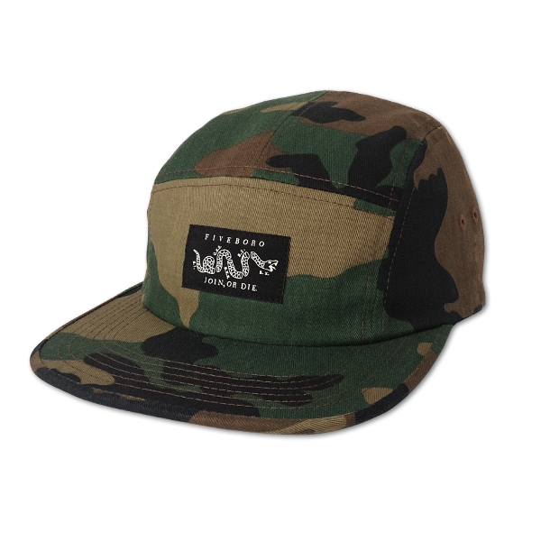 O.G. Join or Die Five Panel Camo