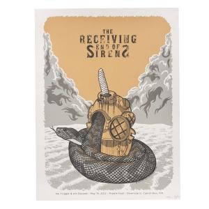 Silkscreened Reunion Show Poster