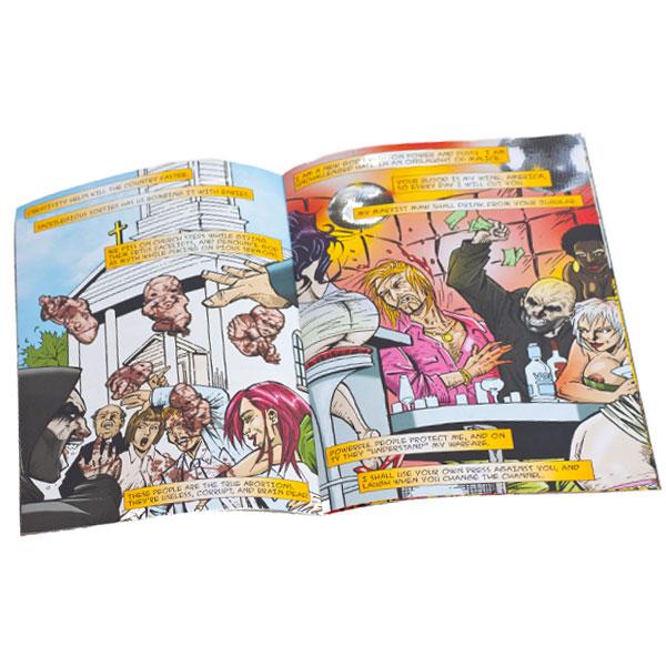 Supreme Violence Comic