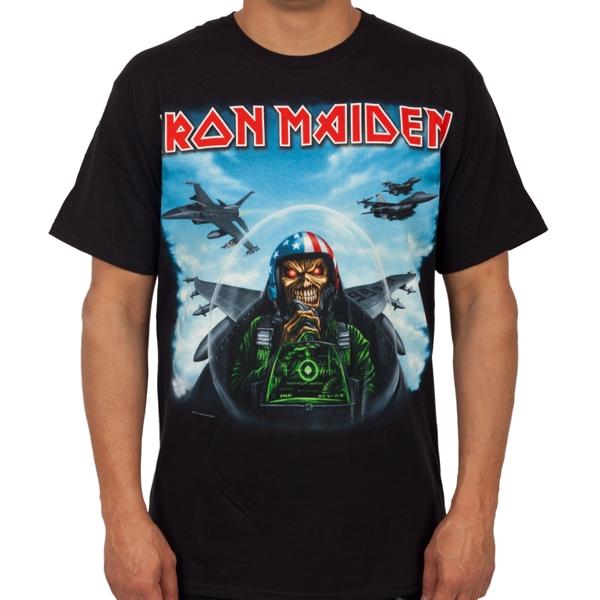 Iron Maiden Quot Aces High Quot T Shirt Indiemerchstore