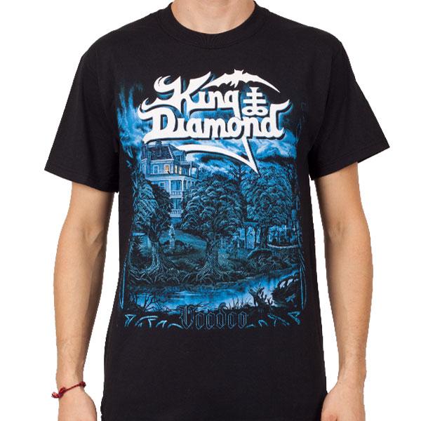 King diamond voodoo t shirt king diamond for Diamond and silk t shirts