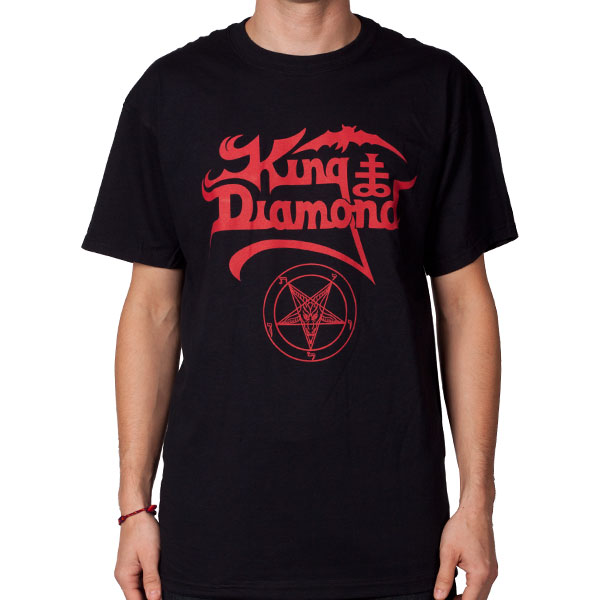 Logo with Pentagram (Red on Black)