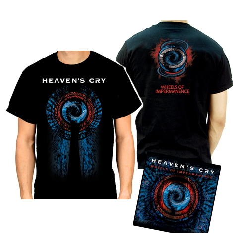 Wheels CD/shirt bundle