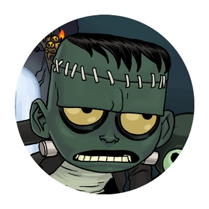 monster hunter frankenstein button