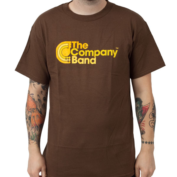 The Company Band Quot Brown Quot T Shirt Indiemerchstore