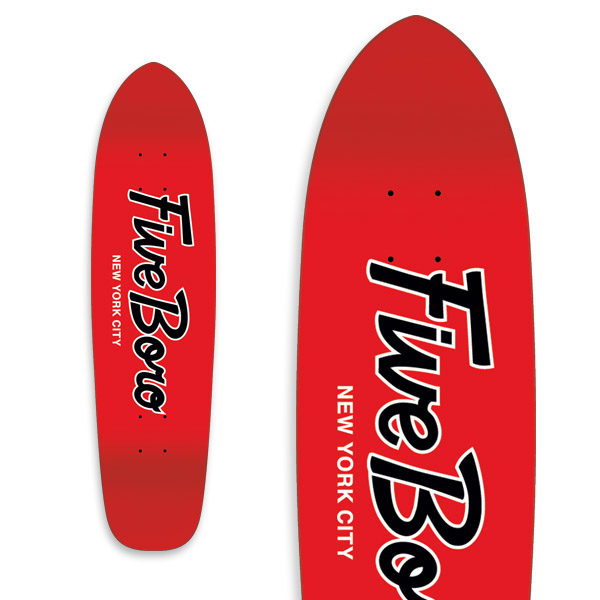 Team Script Cruiser Red & Black