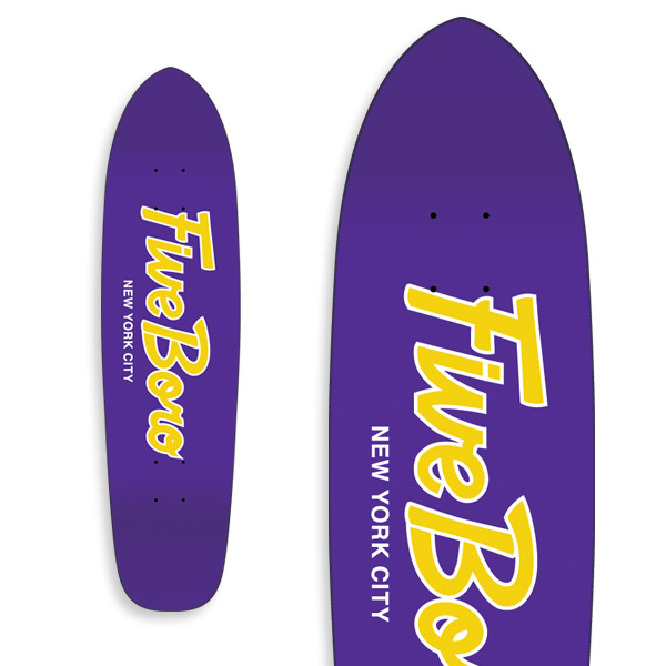 Team Script Cruiser Purple & Yellow