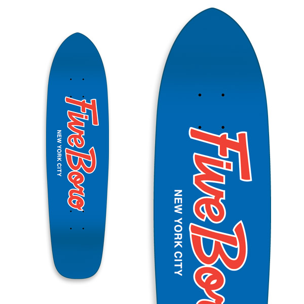 Team Script Cruiser Blue & Red