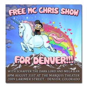denver unicorn poster