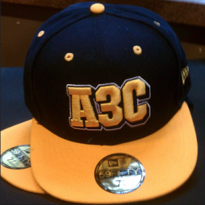 A3C 2012 New Era Fitted Hat
