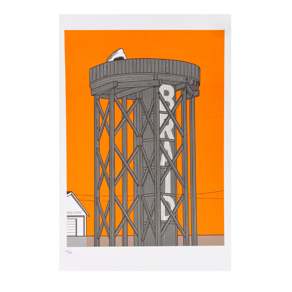 Water Tower Limited Poster