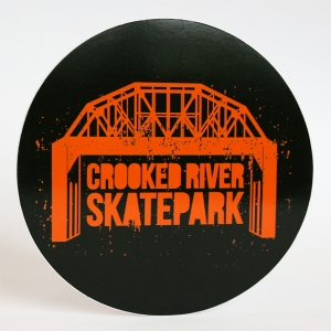 Crooked River Skatepark Stickers