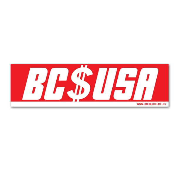 BC USA Sticker