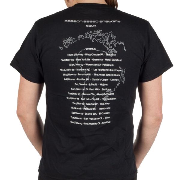 Carbon-Based Anatomy 2011 tour