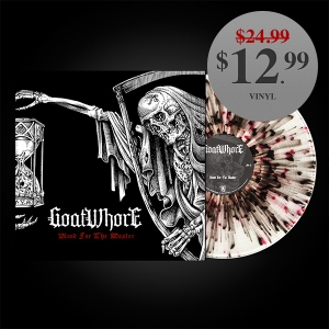 Blood for the Master (R&B splatter/clear vinyl)