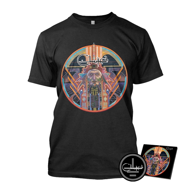 Earth Rocker CD T-shirt Bundle