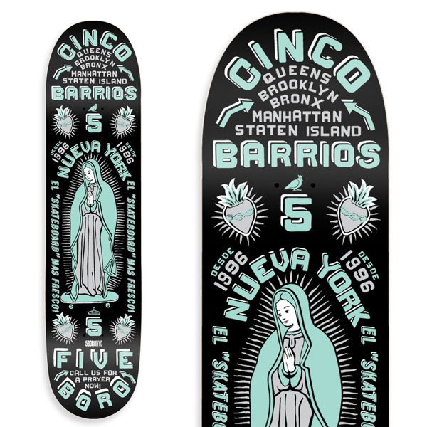 CINCO BARRIOS- MINT