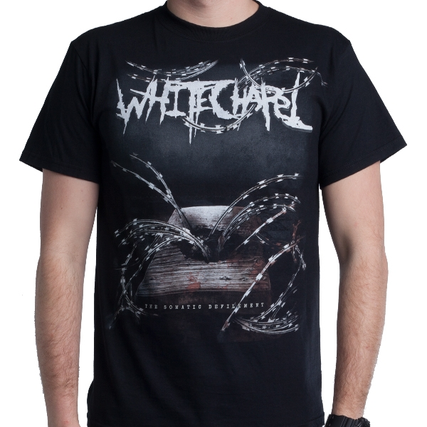 Whitechapel Quot The Somatic Defilement Quot T Shirt Metal Blade