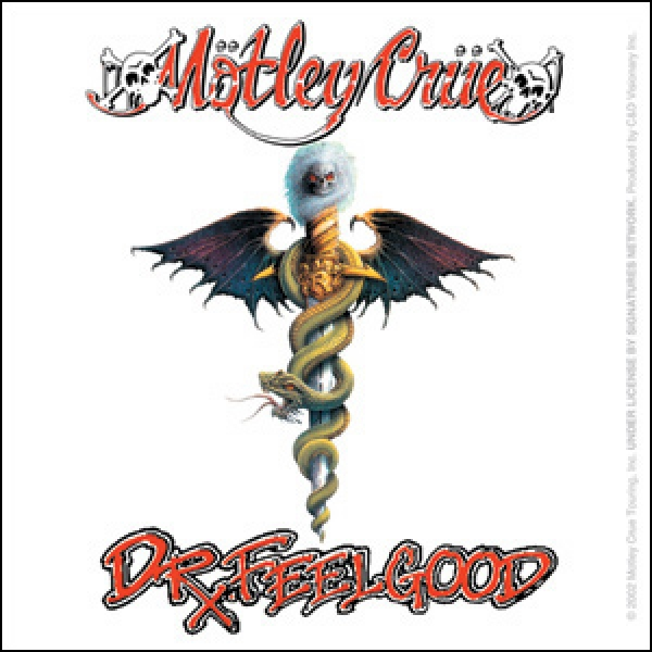 Motley Crue Quot Dr Feelgood Quot Stickers Amp Decals Indiemerchstore