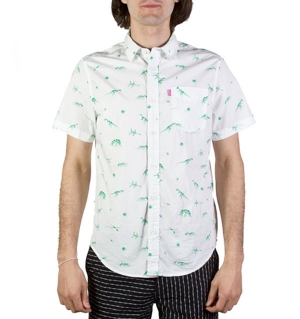 Jurassic Button-Up