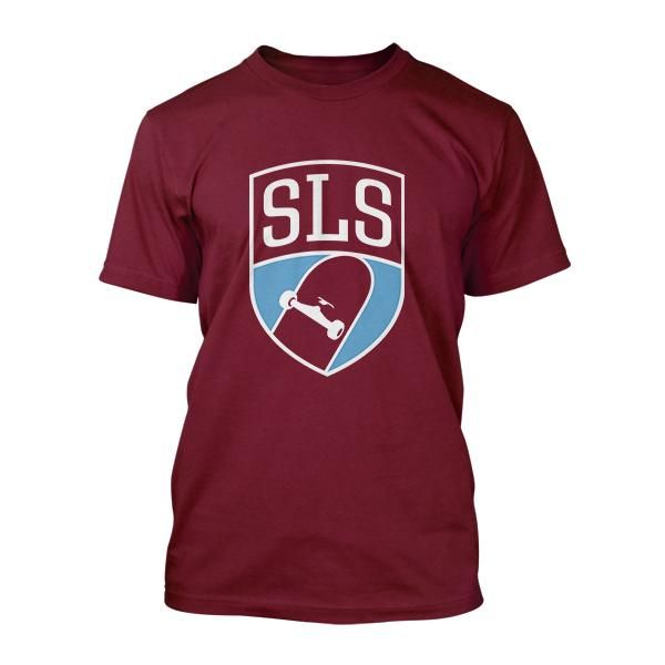 Shield Burgundy