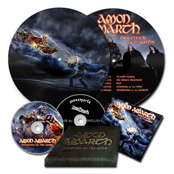 Deceiver Of The Gods 2xCD + LP Bundle