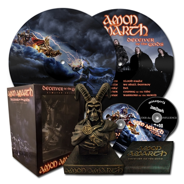 Deceiver Of The Gods Boxset + LP Bundle