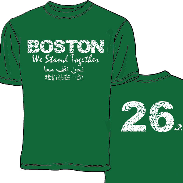 Boston We Stand Together T-shirt