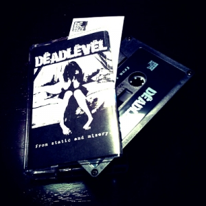 """From Static and Misery"" Cassette / Dropcard"