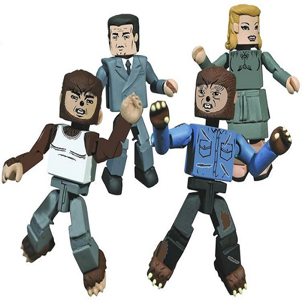 Universal Monsters Wolfman Minimates