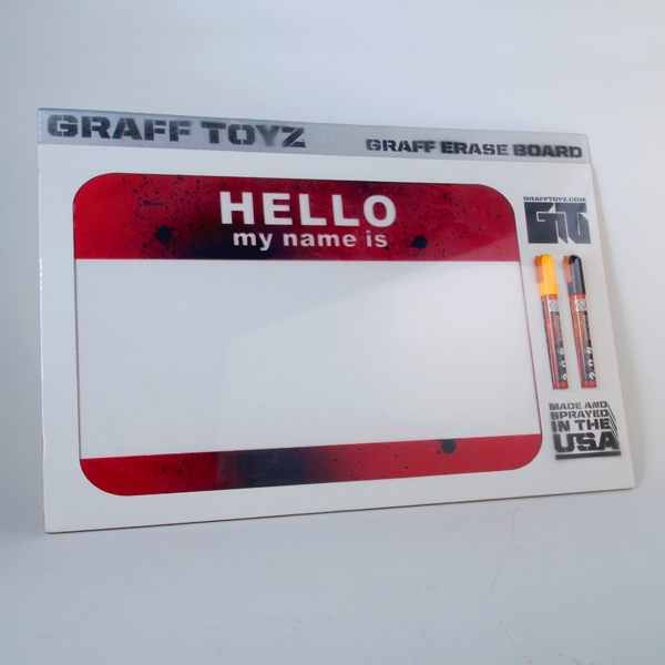 GrafToyz Hello - Erase Board