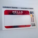 GrafToyz Hello - Erase Board