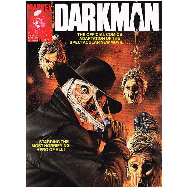 "Darkman ""Official Comics Adaptation"" Magazine"