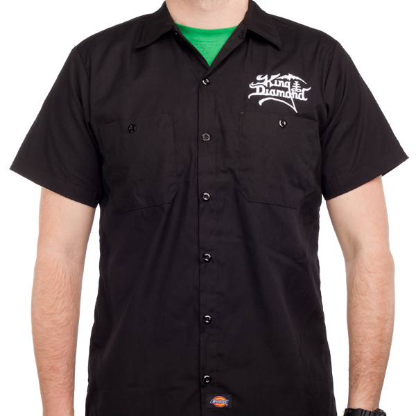king diamond dickies embroidered workshirt work shirts ForEmbroidered Dickies Work Shirts
