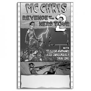 revenge of the nerd tour 2 poster