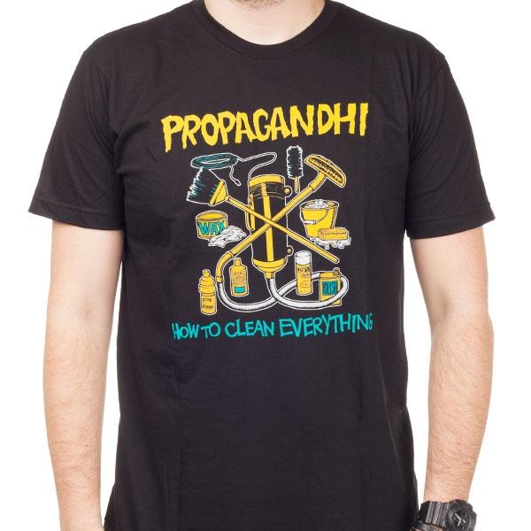 propagandhi lyrics how to clean everything