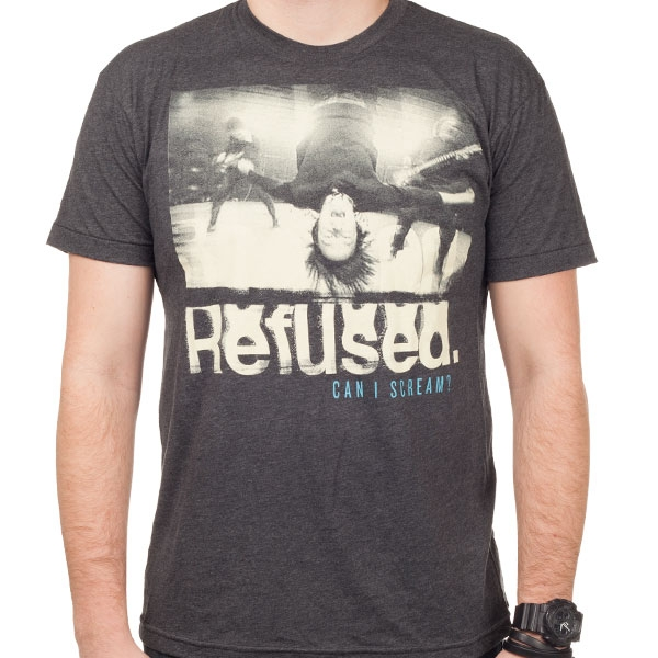 Refused Quot Can I Scream Quot T Shirt Indiemerchstore