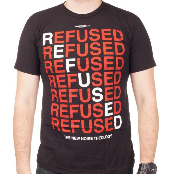 Refused Quot New Noise Quot T Shirt Indiemerchstore
