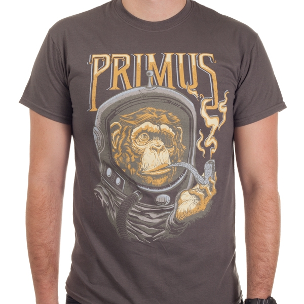 Primus Quot Astro Monkey Quot T Shirt Indiemerchstore