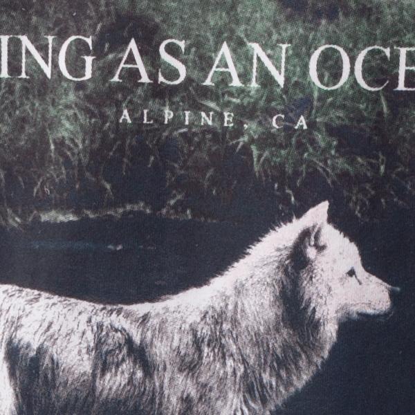 Being As An Ocean Quot Alpine Wolf Quot T Shirt Indiemerchstore