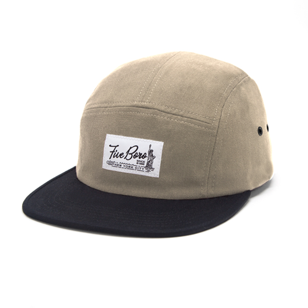 SHAOLIN ISLAND FIVE PANEL- KHAKI