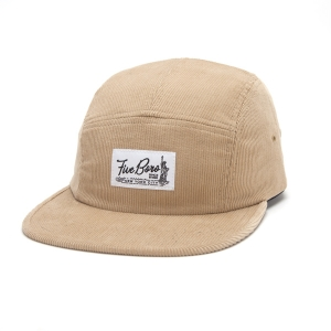 SHAOLIN ISLAND FIVE PANEL- KHAKI CORD