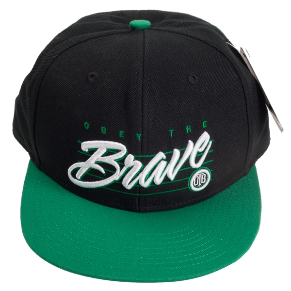 Obey The Brave Quot Flat Fitty Snapback Quot Hat Indiemerchstore