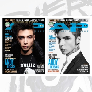 305.1 & 305.2 Andy Biersack covers (12/13)